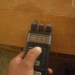 含水率の測定