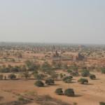 仏教遺跡 バガンの風景