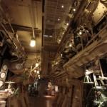 氷川丸の機関室