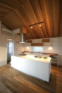 アイランドキッチンの施工事例2