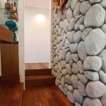 積水ハウスビエナ立川展示場の石壁