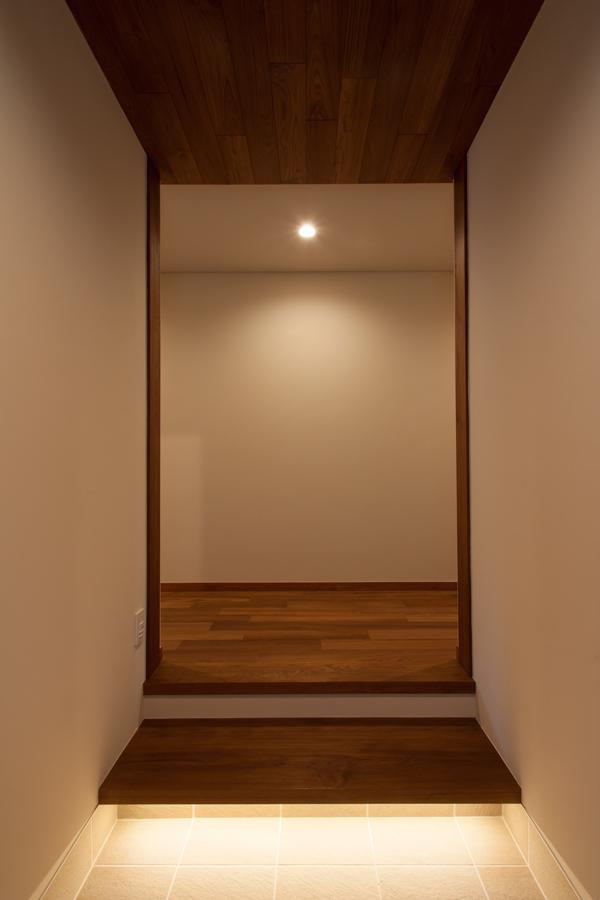 式台のある玄関